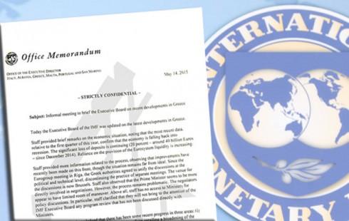 Προειδοποιεί το ΔΝΤ για χρεοκοπία της Ελλάδας τον Ιούνιο