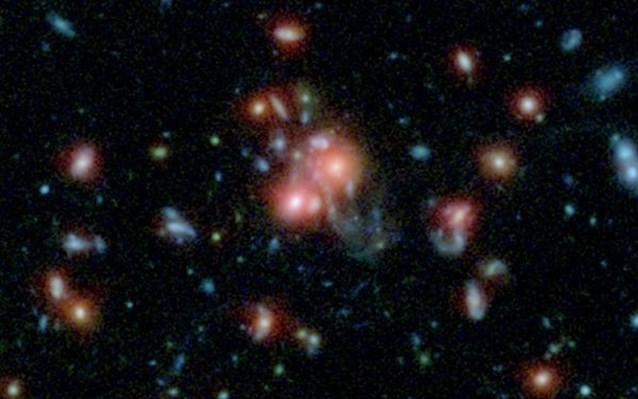 Βρήκαν γαλαξία που γεννά 800 άστρα τον χρόνο