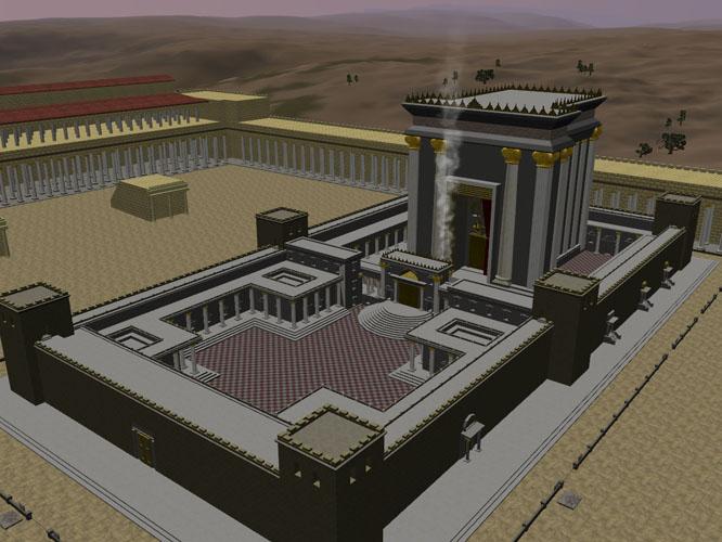 Ετοιμη η αρχιτεκτονική μελέτη του ναού του Σολομώντα (Βίντεο)