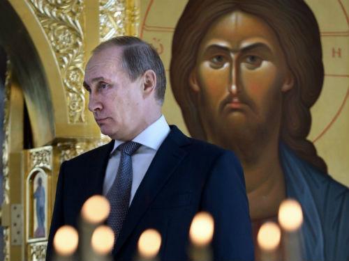 Οι Ρώσοι το παραξήλωσαν! Αγιοποιούν τον Πούτιν