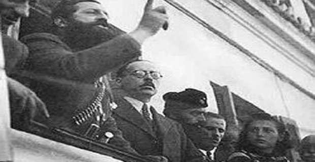 Ο ιστορικός λόγος του Αρη Βελουχιώτη στην Λαμία (βίντεο)