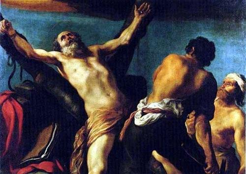 Τα θαύματα και το μαρτύριο της σταύρωσης του Αγίου απόστολου Ανδρέα