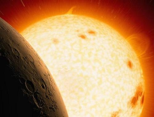 Η NASA ισχυρίζετει οτι ο ήλιος έκαψε τον πλανήτη Αρη
