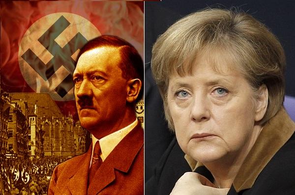 ΜΕΓΑΛΗ ΘΕΩΡΙΑ ΣΥΝΟΜΩΣΙΑΣ! Δείτε τι συγγένεια  έχουν Μέρκελ-Χίτλερ!