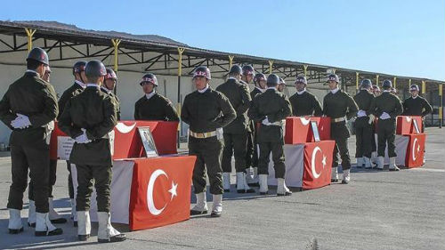 Η Τουρκία γέμισε με φέρετρα και νεκρούς