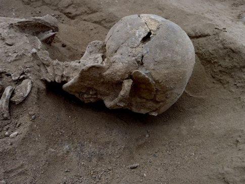 Μακελειό με ρόπαλα 10.000 ετών