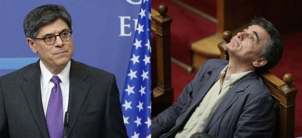 Η Αμερική έδωσε γραμμή στον Τσακαλώτο! Η τηλεφωνική του συνομιλία με τον Τζακ Λιού