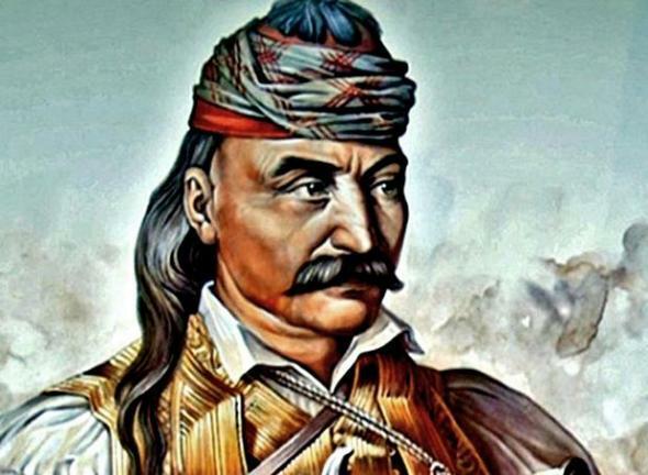 Σαν σήμερα γεννήθηκε ο γέρος του Μωριά,πού κρεμούσε από τα πλατάνια τους δειλούς που προσκυνούσαν τους Τούρκους