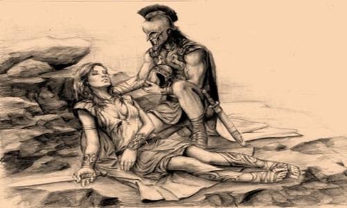 Ο έρωτας του Αχιλλέα με την Αμαζόνα