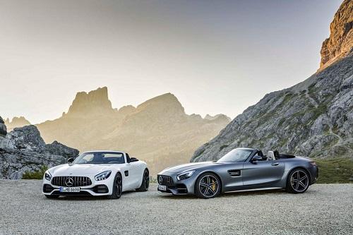 Αποκάλυψη για τη νέα Mercedes AMG GT Roadster