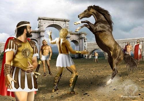 Ο Βουκεφάλας και ο Αλέξανδρος