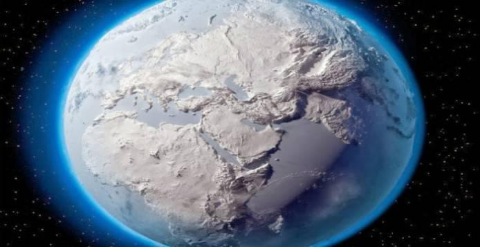 Υπήρξε περίοδο στην γη πού ήταν όλη κατακλυσμένη από πάγο