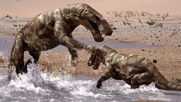 Τα Προϊστορικά πλάσματα πού έζησαν πριν από τους δεινόσαυρους επάνω στην γη