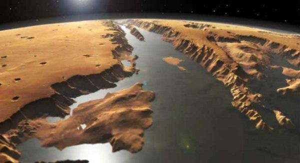 Ο πλανήτης Αρης στο παρελθόν είχε τεράστιο ωκεανό
