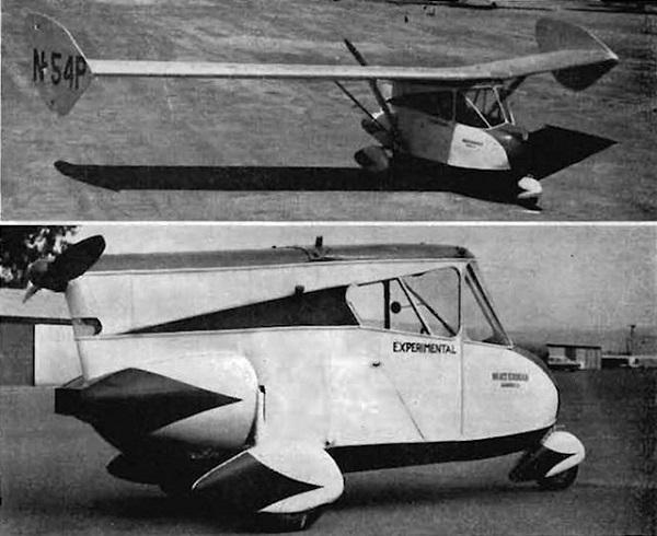 Το πρώτο αυτοκίνητο αεροπλάνο κατασκευασθηκε το 1937
