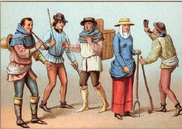 Η ενδυμασία στα χρόνια του μεσαίωνα