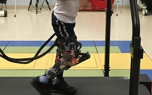Ρομποτική στολή για παιδιά με εγκεφαλική παράλυση