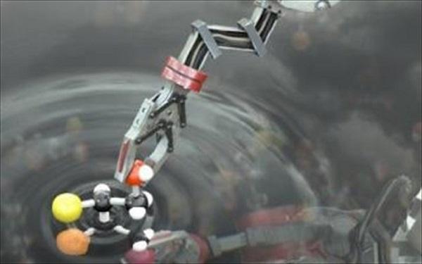 Μοριακό ρομπότ που μπορεί να κατασκευάσει μόρια