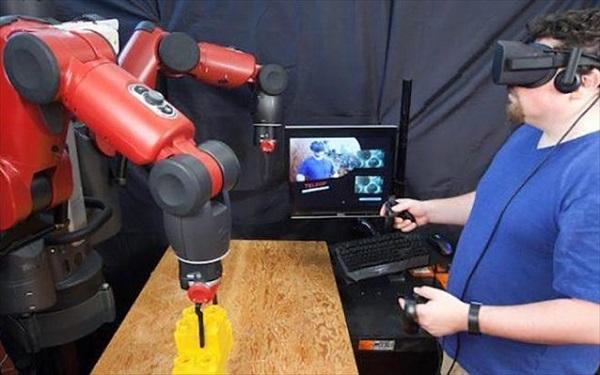 Τηλεχειρισμός ρομπότ μέσω εικονικής πραγματικότητας