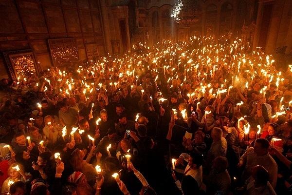 Ετσι θα ερθει το αγιο φως το μεγάλο Σάββατο
