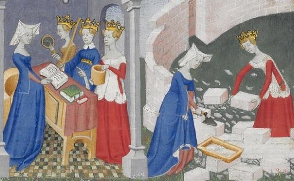 Ο τρόπος ζωής της γυναίκας στον μεσαίωνα