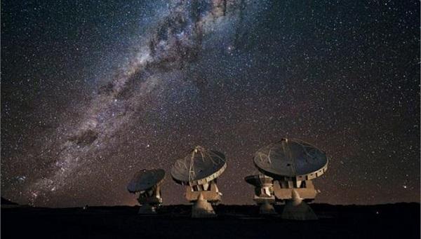 Ισχυρά ραδιοσήματα έπιασε πρόγραμμα αναζήτησης εξωγήινων