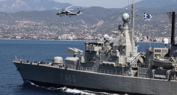 Καστελόριζο – Θερμό επεισόδιο: Τείχος από το Πολεμικό Ναυτικό στο Αιγαίο