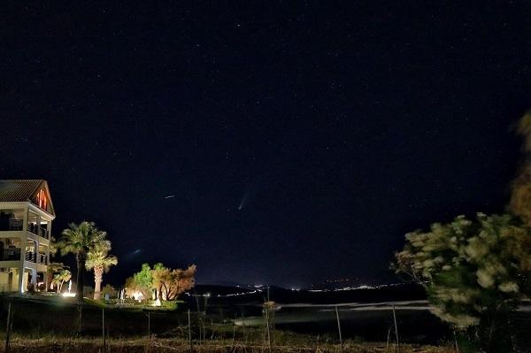 Ορατός και από την Ζάκυνθο για λίγες ημέρες ακόμη ο κομήτης NEOWISE