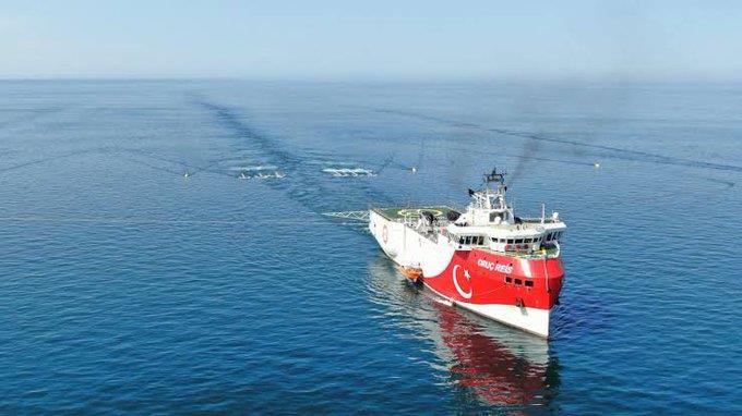 Μια ανάσα από τη Ρόδο το τουρκικό πλοίο