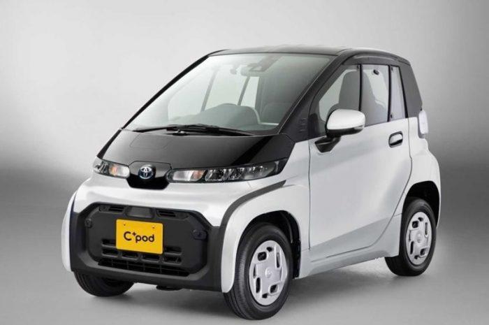 Η Toyota παρουσιάζει ένα μικροσκοπικό ηλεκτρικό αυτοκίνητο
