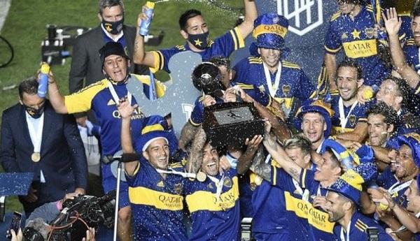 Η Μπόκα Τζούνιορς κατέκτησε το Κύπελλο Ντιέγκο Αρμάντο Μαραντόνα