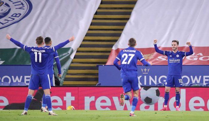 Premier League: Ανέβηκε 2η η Λέστερ