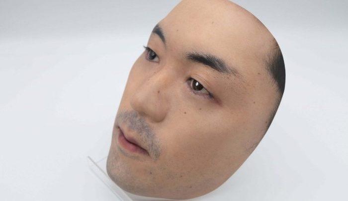 3D μάσκα με ένα ξένο πρόσωπο από κατάστημα στο Τόκιο