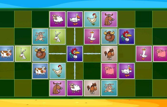 FARM ANIMALS MATCHING PUZZLES – Παιχνίδι παζλ