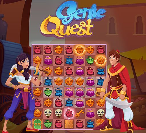 GENIE QUEST – Παιχνίδι