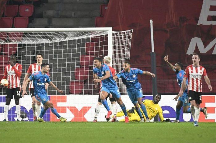 Αϊντχόφεν – Ολυμπιακός: 2-1 στο 88ο λεπτό γκολ πρόκρισης ο Χασάν