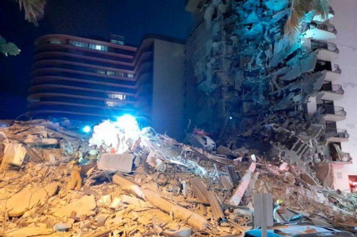 Κατέρρευσε πολυώροφο κτίριο στο Μαϊάμι